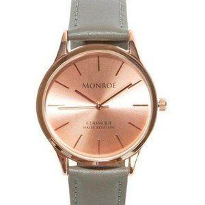 NWT Monroé Classique Women's Watch in Sunburst